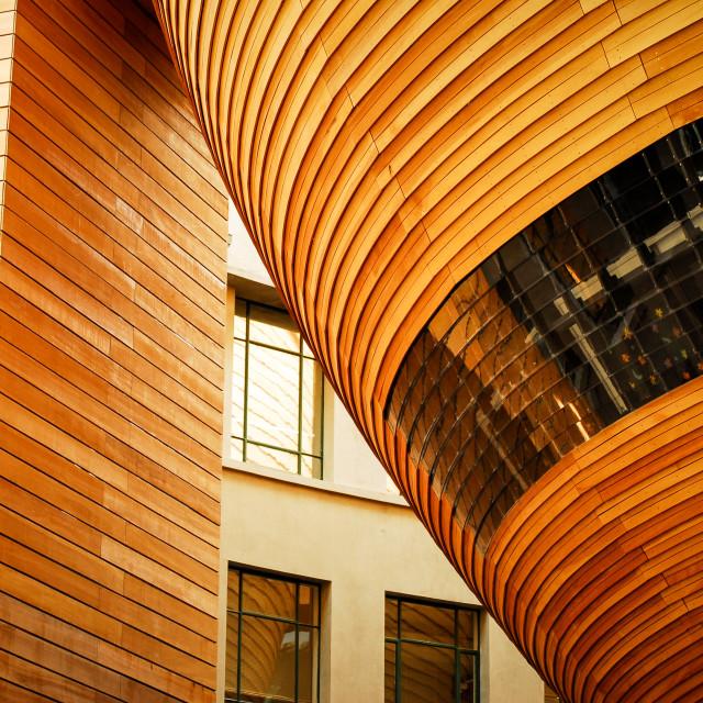 """Auckland Museum Architectural Tilt"" stock image"