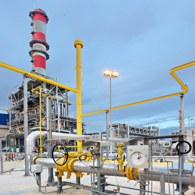 """Power Plant"" stock image"