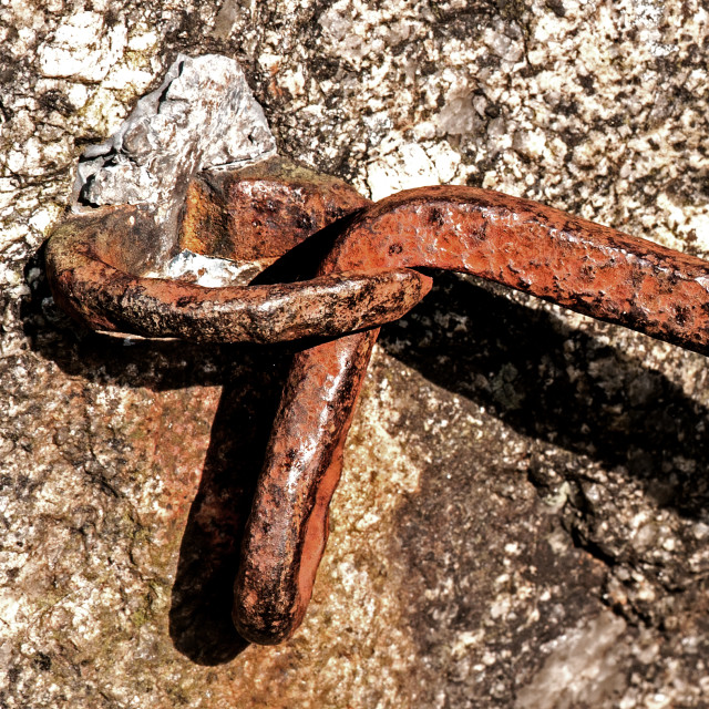 """Old Latch"" stock image"