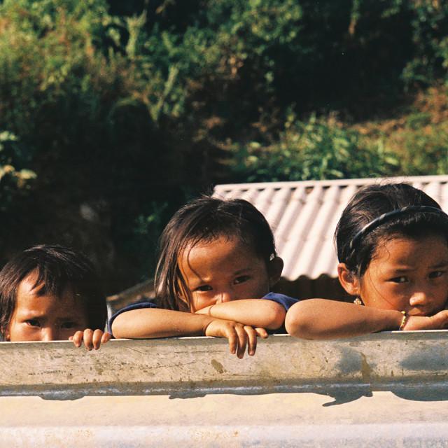 """Vietnamese children"" stock image"