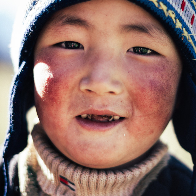 """Kyrgyz Boy"" stock image"