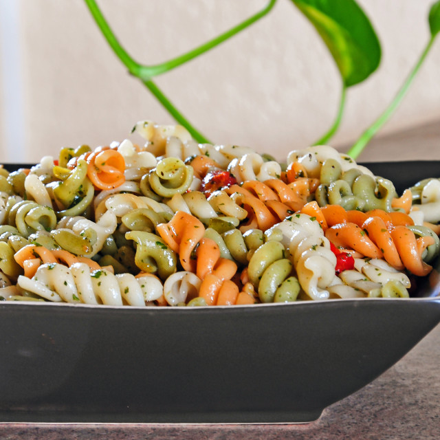 """Macaroni Salad Side Dish"" stock image"