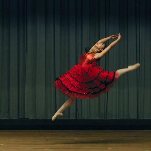"""Ballet Dancer"" stock image"