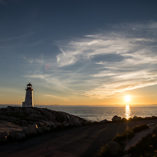 """Peggys Cove"" stock image"