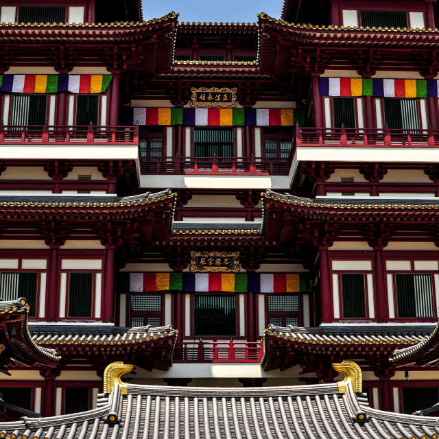 """""""Buddha Tooth Relic Temple & Museum"""" stock image"""