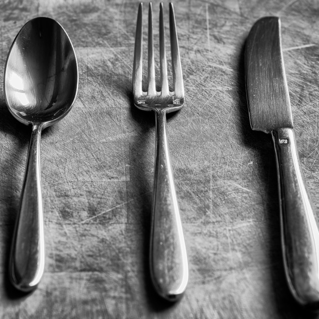 """Cutlery"" stock image"