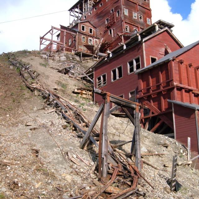 """Kennecott Mine"" stock image"