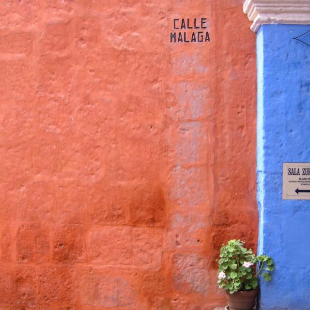 """Santa Catalina, Arequipa"" stock image"
