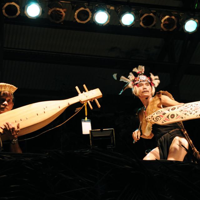 """""""Lan-E Tuyang at Rainforest World Music Festival"""" stock image"""