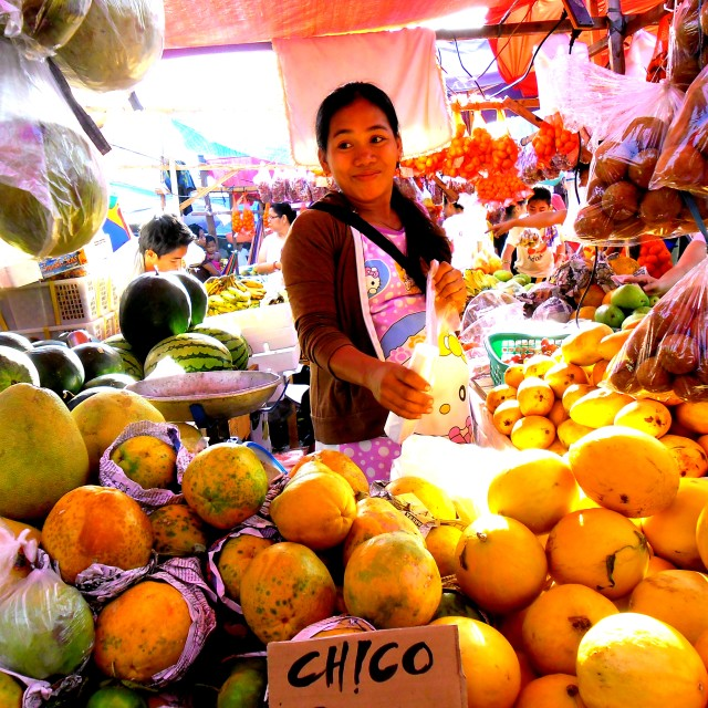 """""""woman selling fruits and vegetables"""" stock image"""