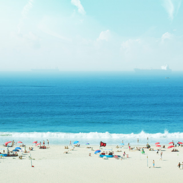 """Copacabana"" stock image"