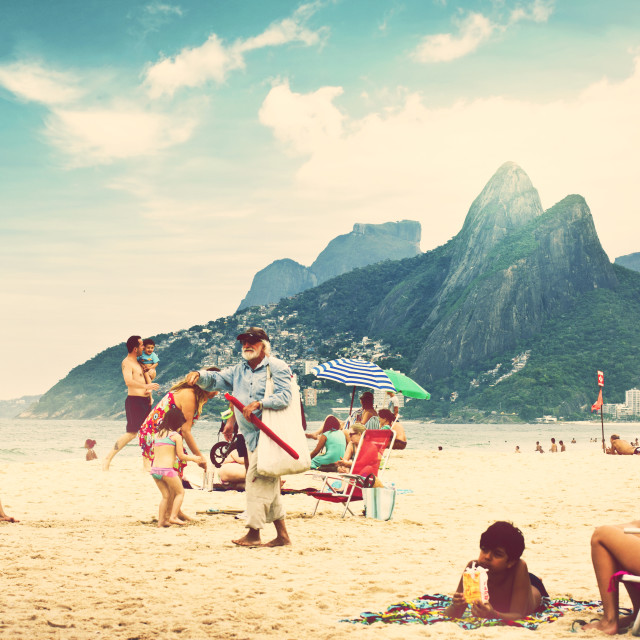 """Ipanema"" stock image"