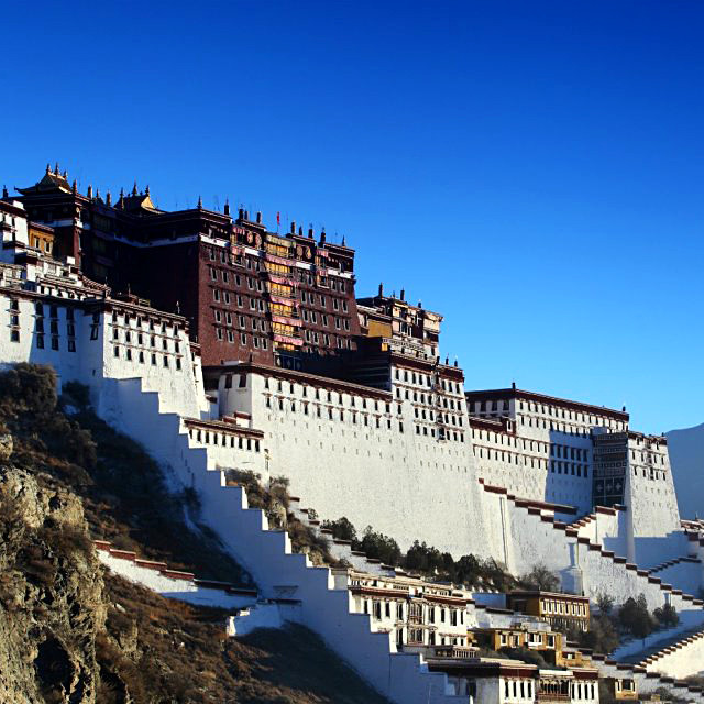 """Potala Palace"" stock image"