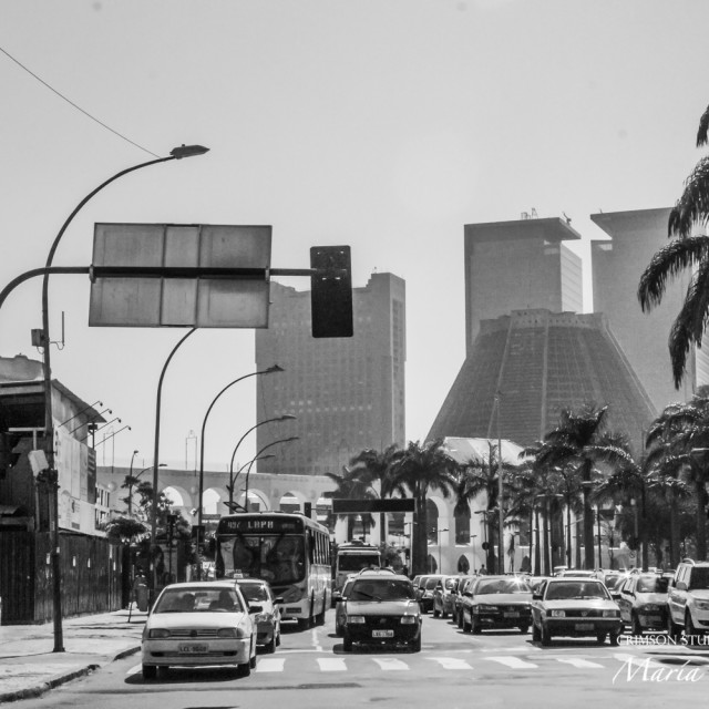 """Downtown Lapa"" stock image"