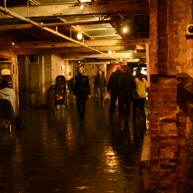"""Chelsea Market, New York"" stock image"