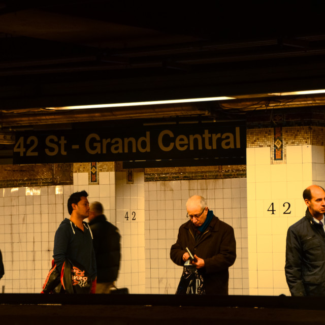 """42nd street, Grand Central Station"" stock image"