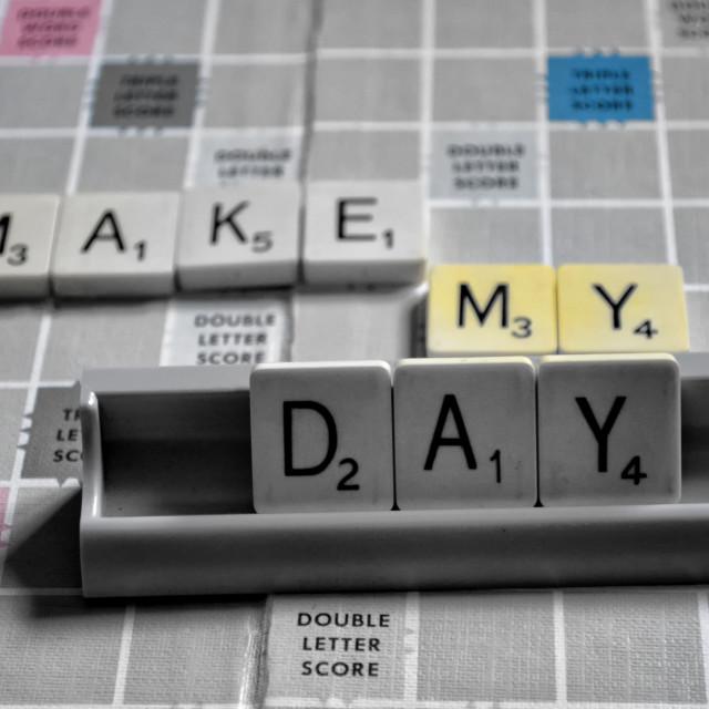 """Make my day"" stock image"