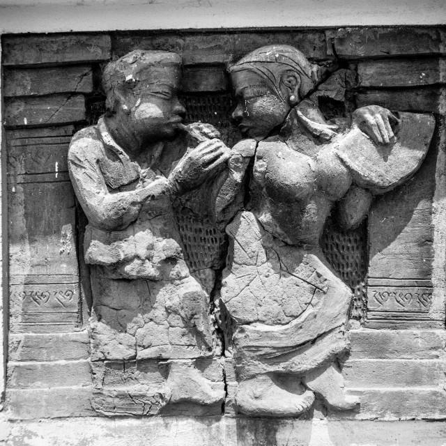 """Apsara dance"" stock image"