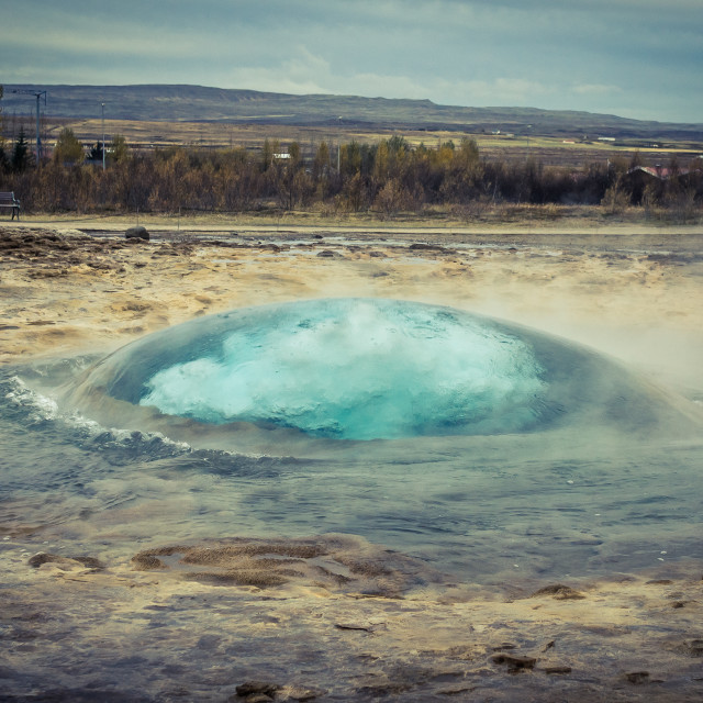 """Geysir in Iceland"" stock image"