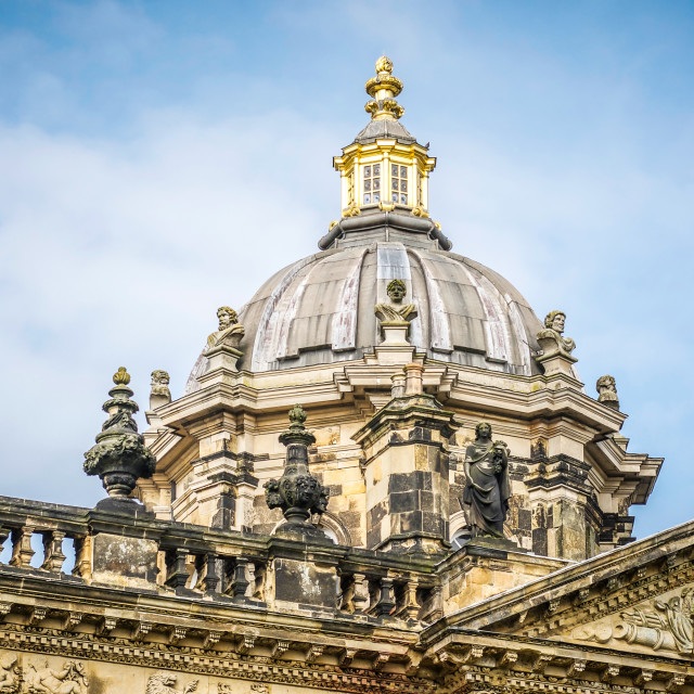 """Castle Howard Dome UK"" stock image"