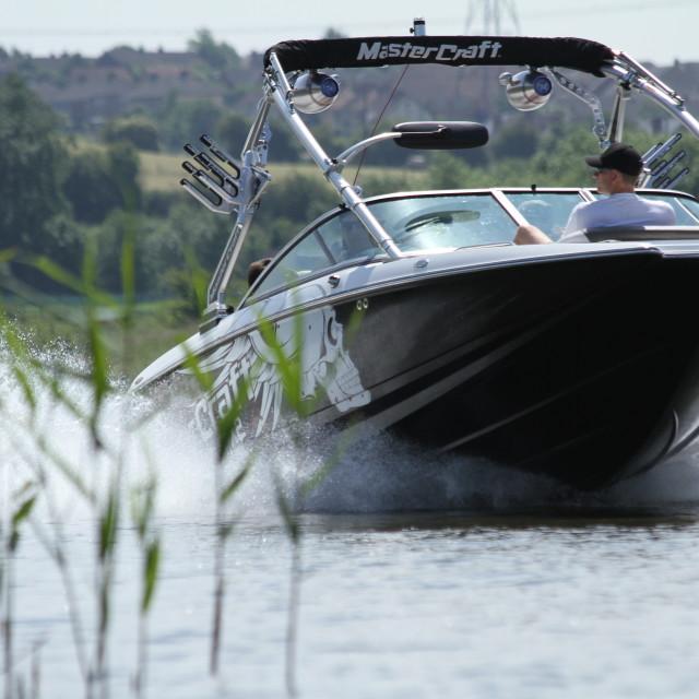 """Powerboat"" stock image"