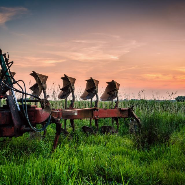 """""""The Plough"""" stock image"""