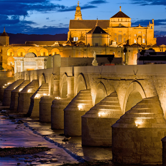 """Mezquita Cathedral in Cordoba"" stock image"