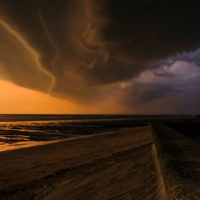 """""""Approaching Storm"""" stock image"""
