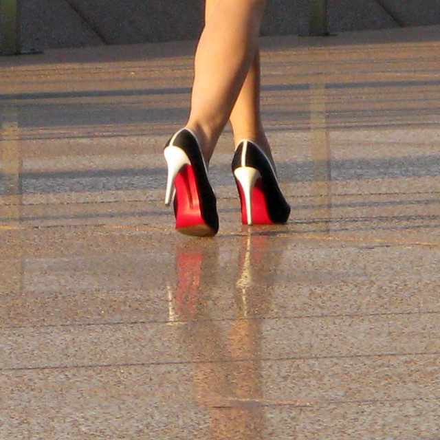 """""""shoes & legs"""" stock image"""