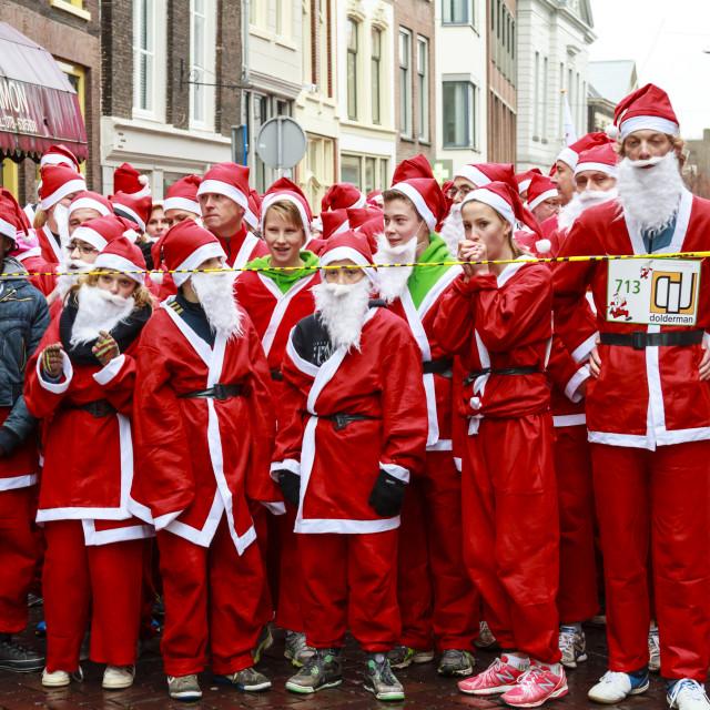 """Santa start"" stock image"