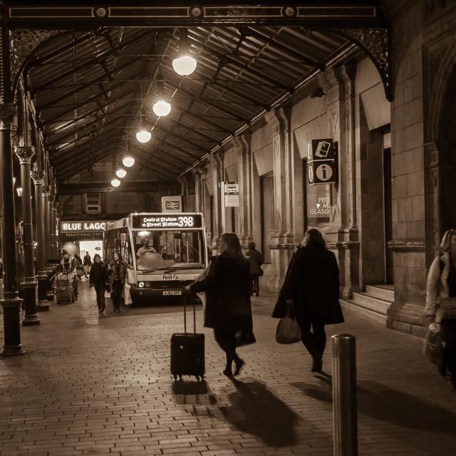 """""""Gordon Street Glasgow"""" stock image"""