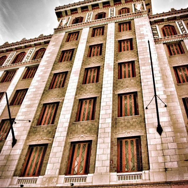 """'Bacardi' building, Havana, Cuba"" stock image"