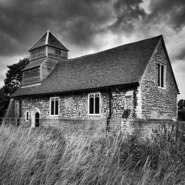 """Dorney Chapel, Berkshire"" stock image"