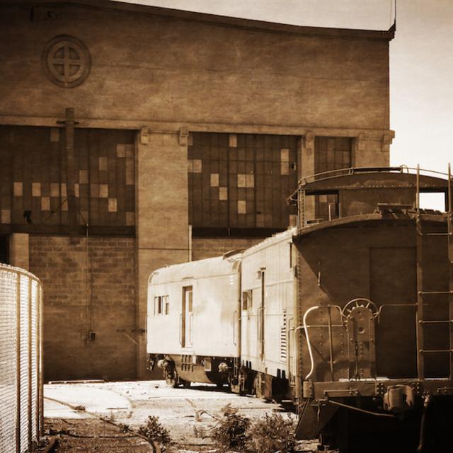 """""""Vintage Rail"""" stock image"""