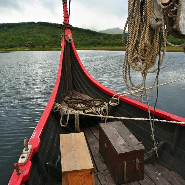 """Viking's ship"" stock image"