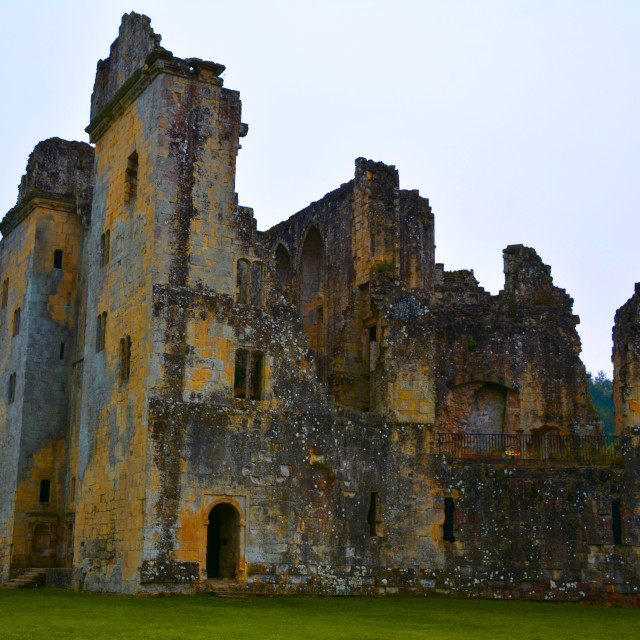 """Old Wardour Castle"" stock image"