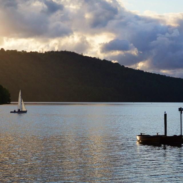 """Lake Windermere."" stock image"
