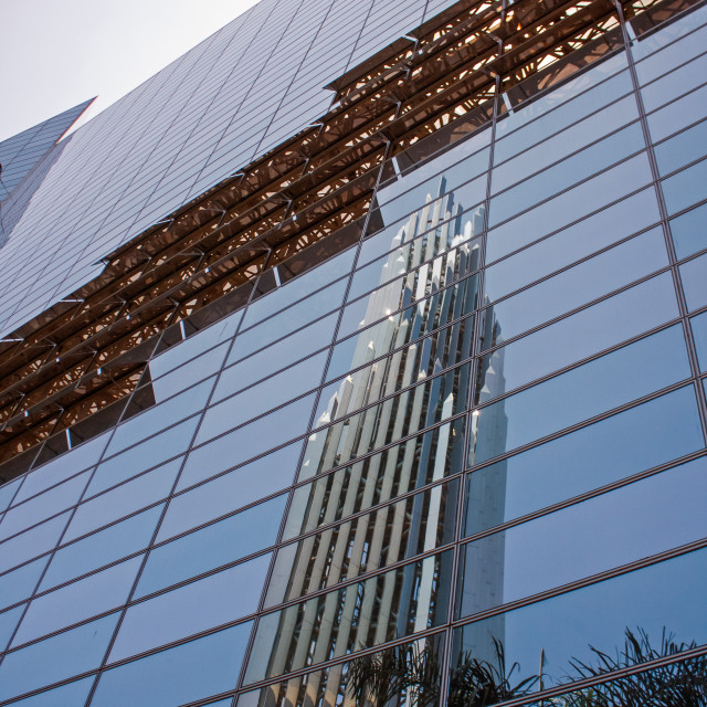 """Crystal Cathedral"" stock image"