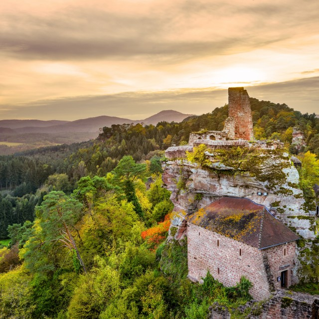"""Altdahn (Southern Palatinate, Germany)"" stock image"