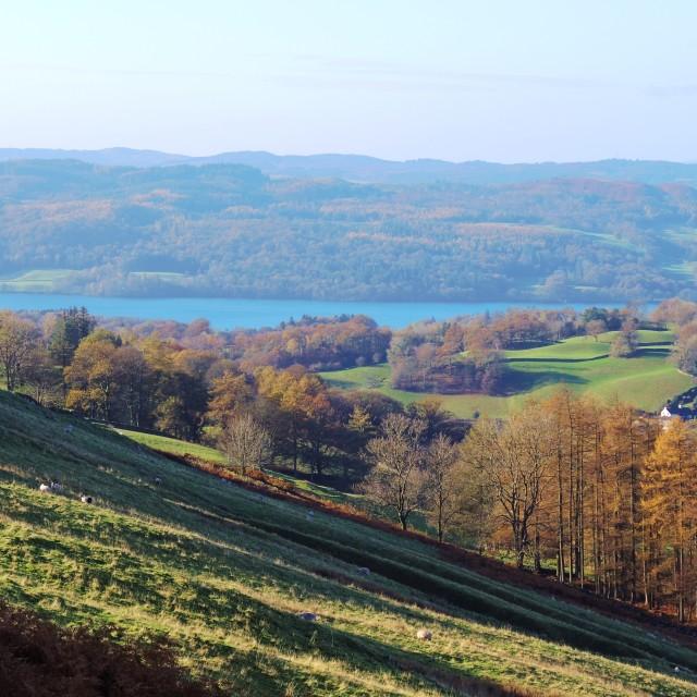 """The English Lake District."" stock image"