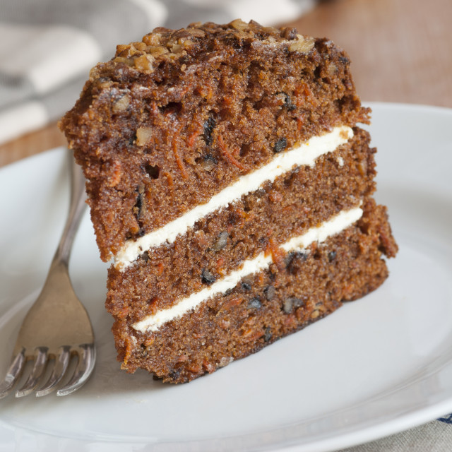 """Carrot cake"" stock image"
