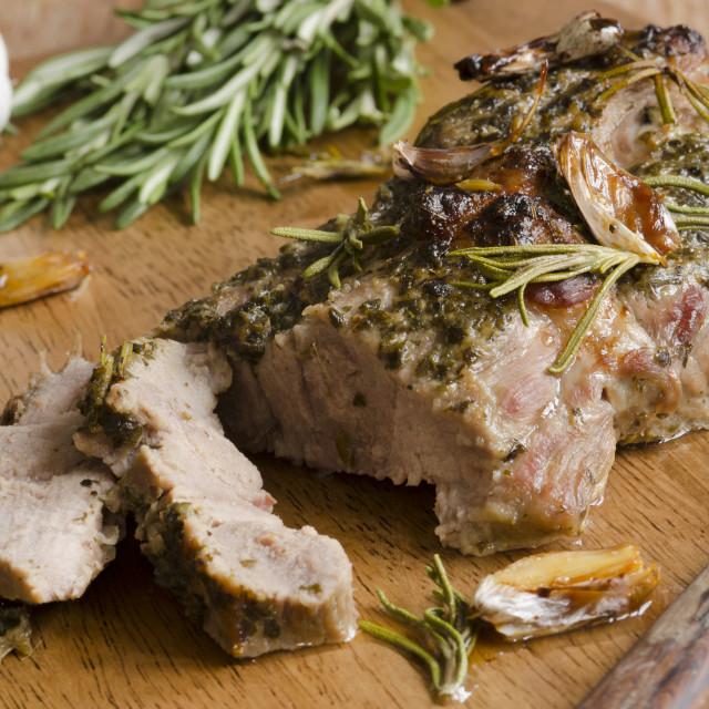 """""""Pork Shoulder"""" stock image"""