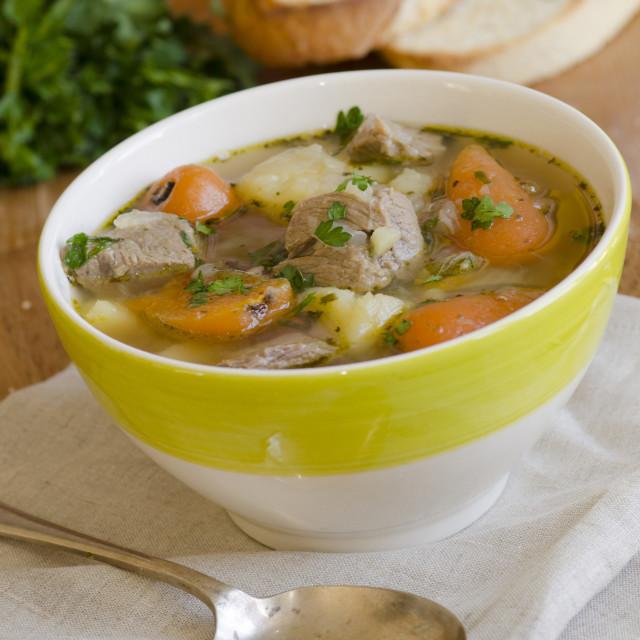 """""""Irish stew"""" stock image"""