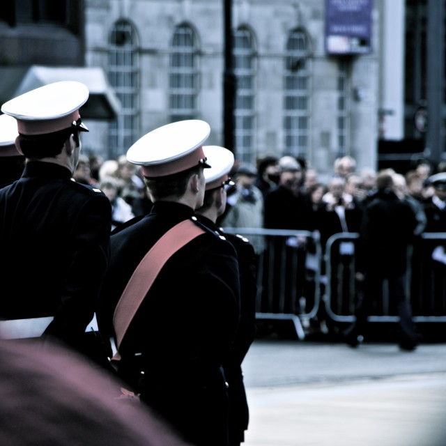"""Remembrance parade"" stock image"
