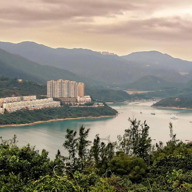 """""""Tai Tam Bay, Hong Kong"""" stock image"""