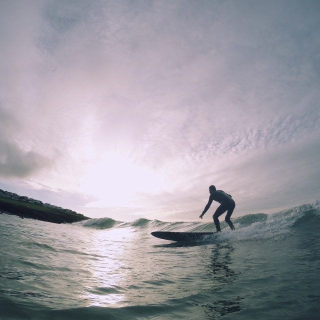 """Polzeth Surfer"" stock image"
