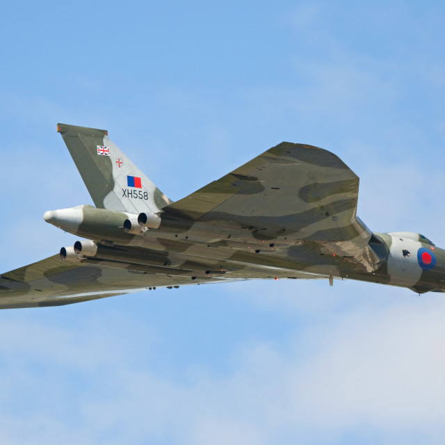 """""""Avro Vulcan"""" stock image"""