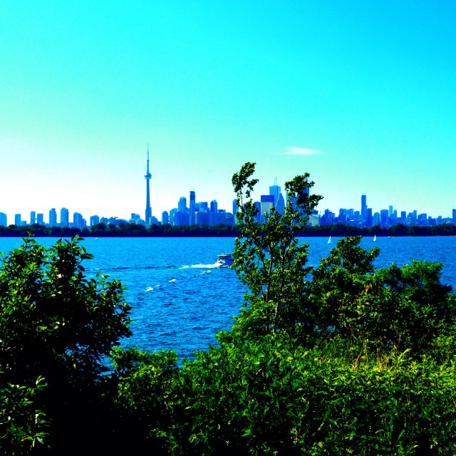 """Waterfront Toronto"" stock image"