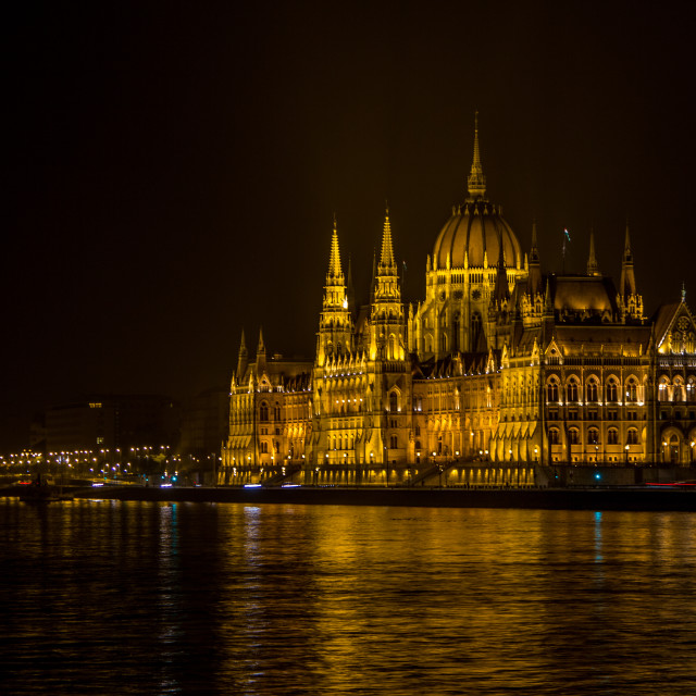 """Hungarian Parliament Building, Budapest"" stock image"
