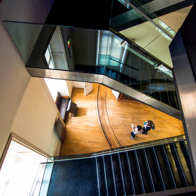 """Levels of Stairs at Arts & Metier Museum Paris"" stock image"